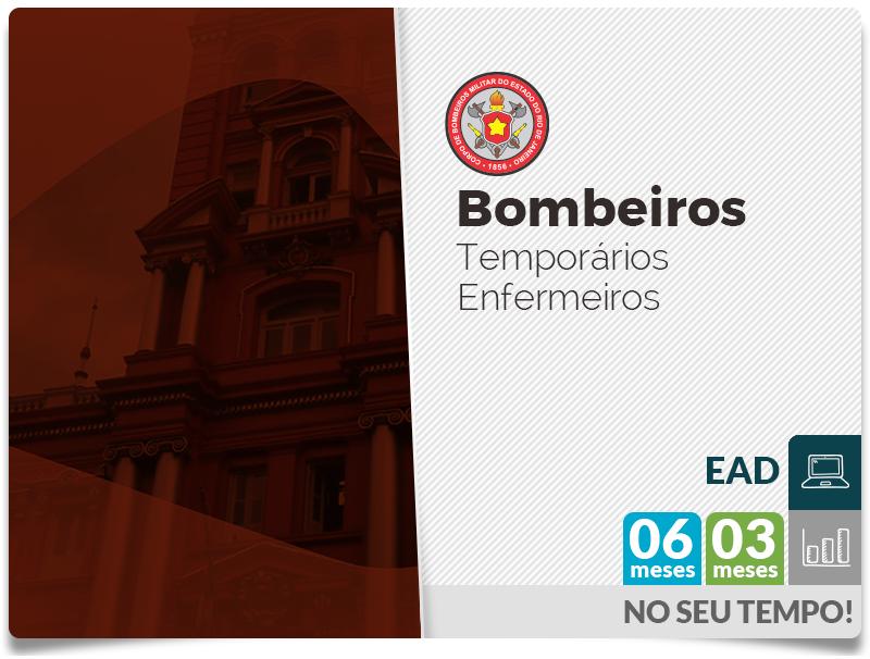 Bombeiros RJ Temporários - Enfermeiros - EAD