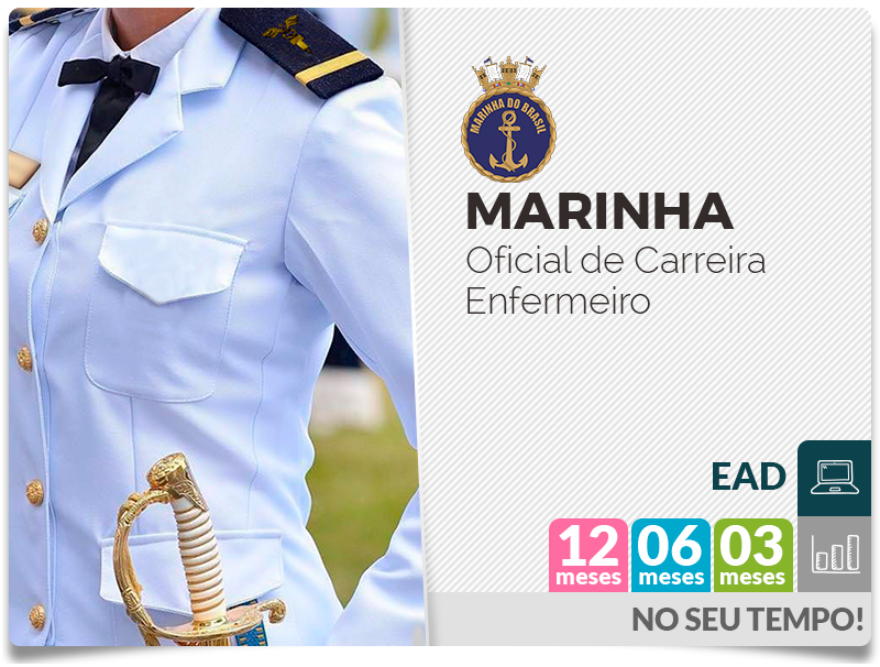 Marinha Oficial de Carreira Enfermeiro EAD