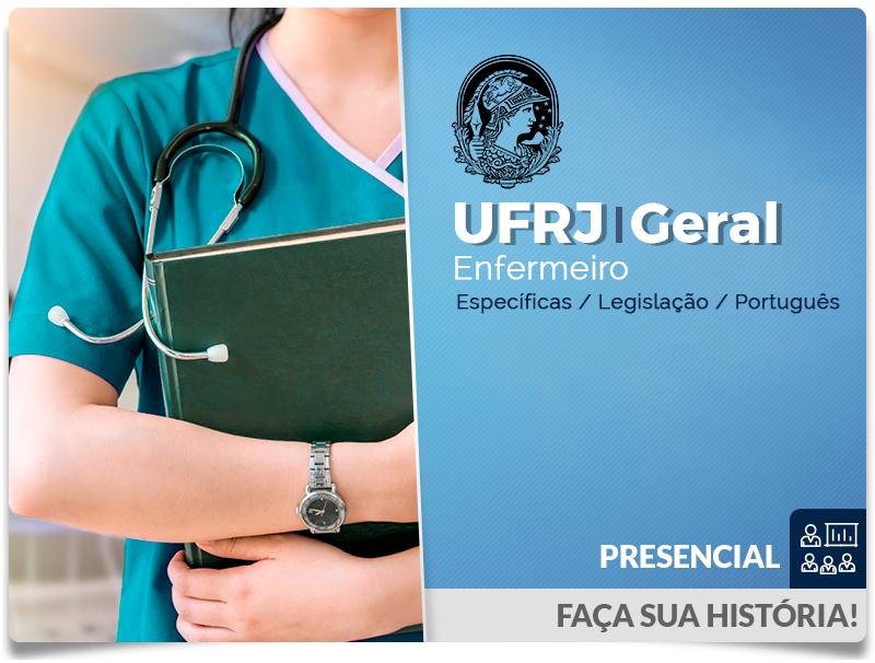 UFRJ Enfermeiro  Geral - Presencial