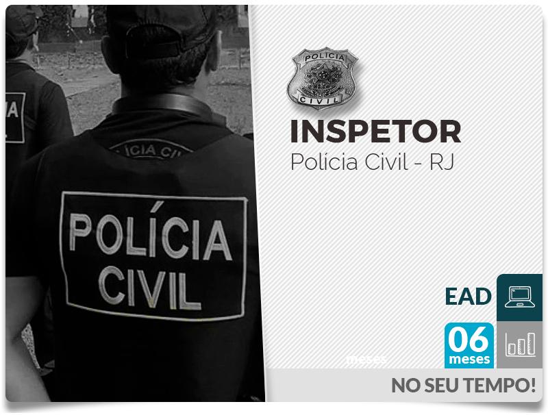 Inspetor POLÍCIA CIVIL EAD