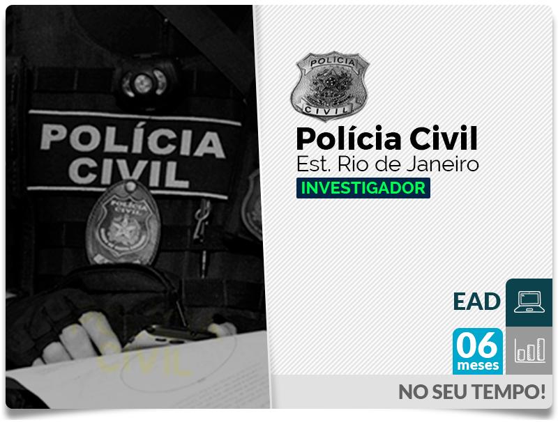 Investigador POLÍCIA CIVIL EAD