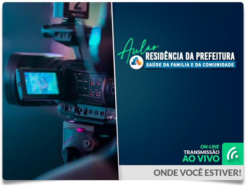 Aulão Residência Prefeitura do RJ - 2021 - Ao Vivo