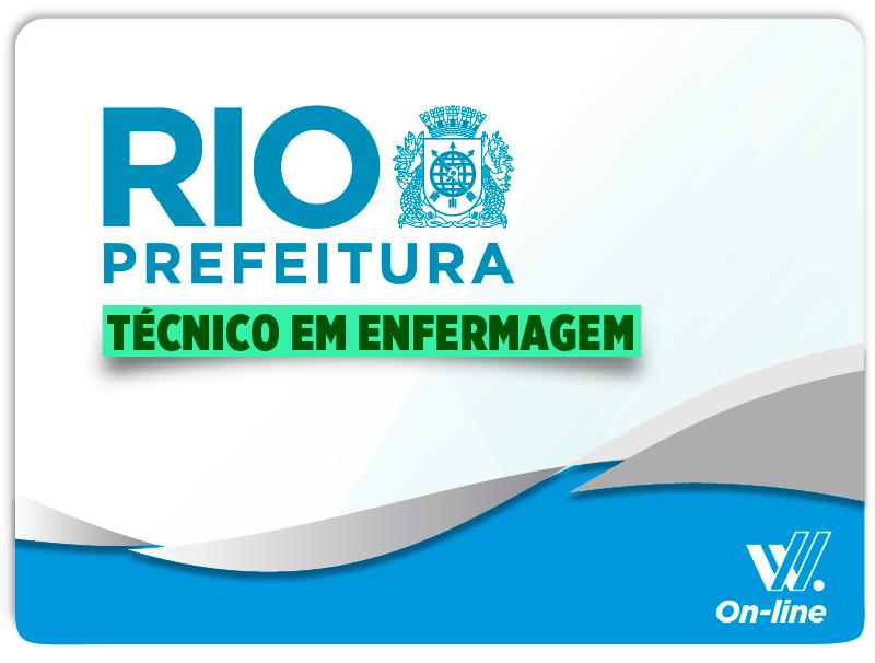Prefeitura do Rio Técnico em Enfermeiro EAD