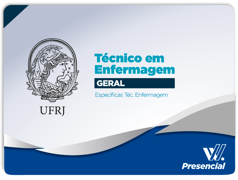 UFRJ GERAL Técnico Enfermagem Presencial