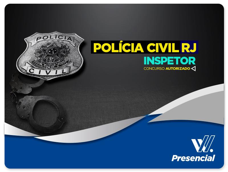 Inspetor - POLÍCIA CIVIL