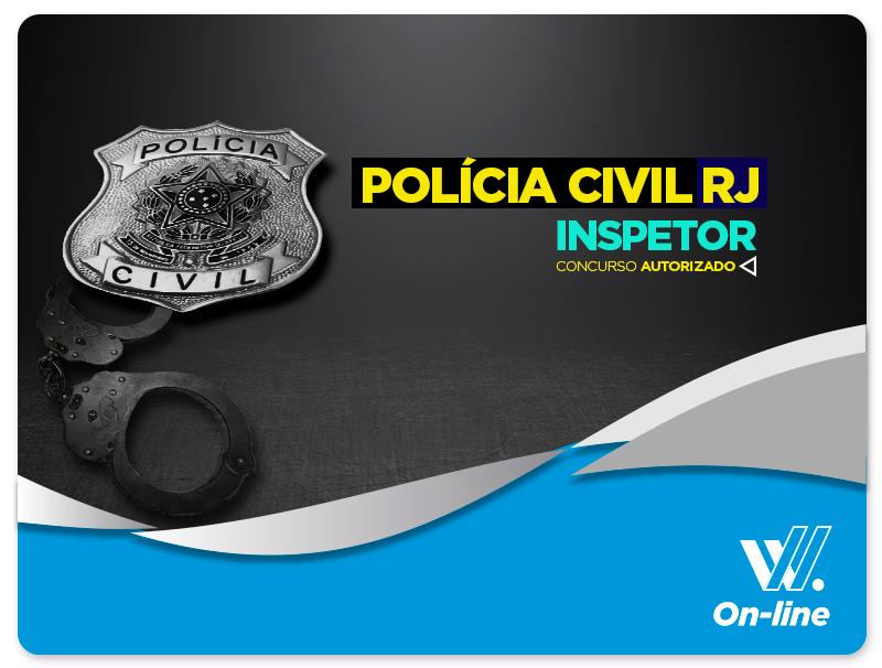 Inspetor POLÍCIA CIVIL - EAD