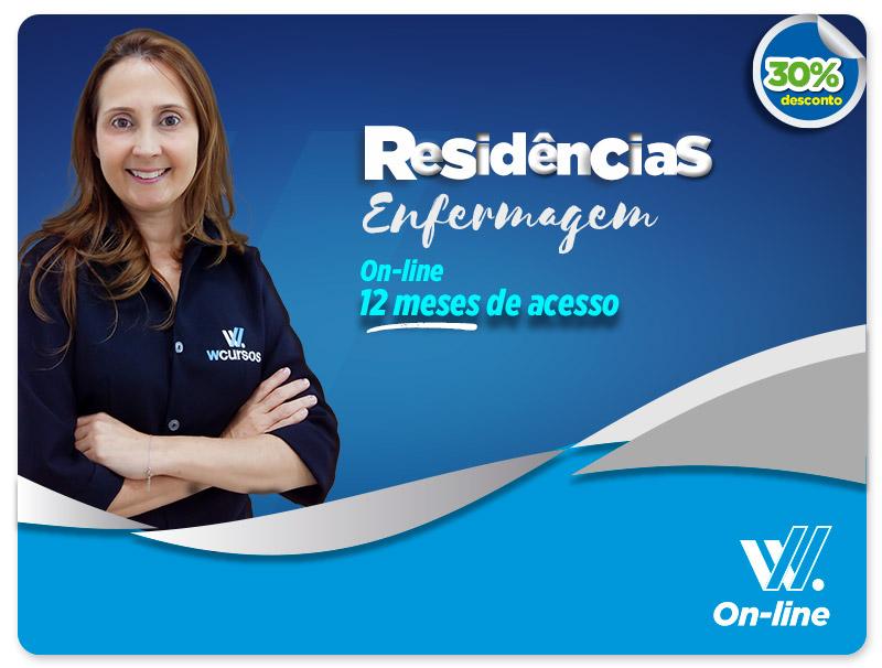 Residência Extensiva Enfermeiro  - EAD | 12 meses de acesso