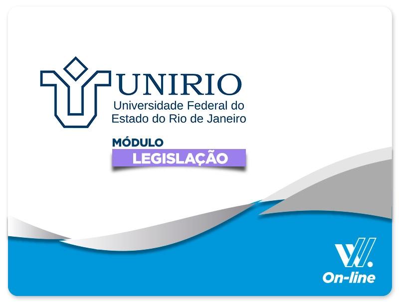 UNIRIO | Módulo EAD | Legislação