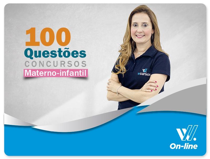 100 Questões para Concursos - Profa. Luciane Almeida