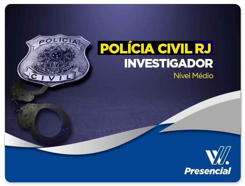 Investigador - POLÍCIA CIVIL | CONFIRMADA