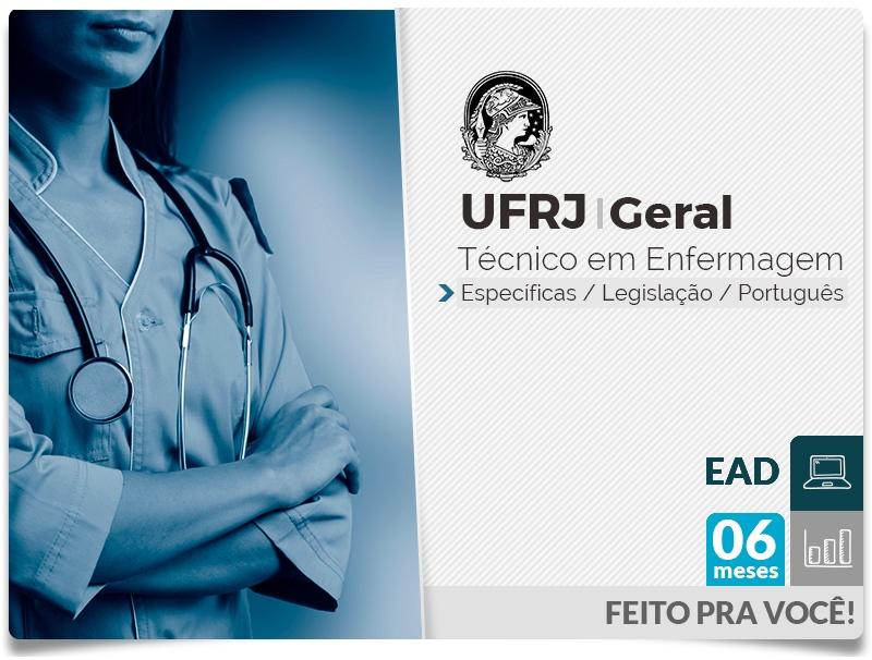 UFRJ GERAL Completo Técnico Enfermagem - EAD