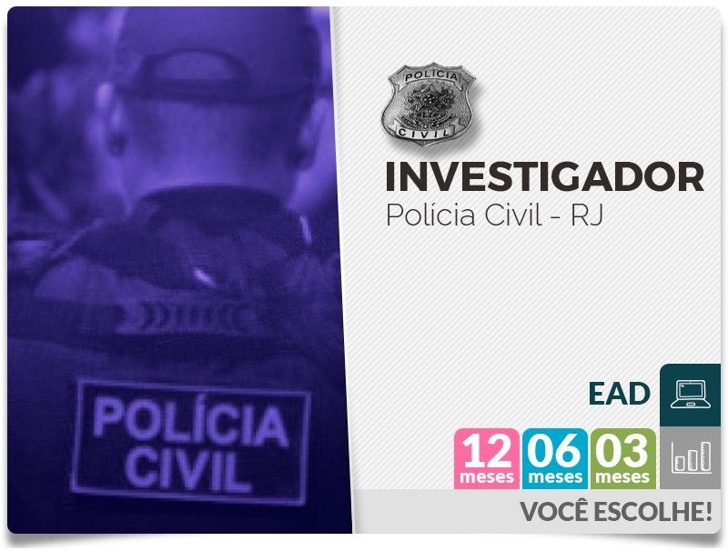 Investigador - POLÍCIA CIVIL - EAD