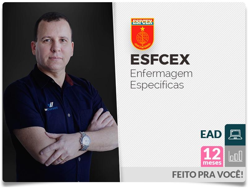 ESFCEX Específica de Enfermagem EAD