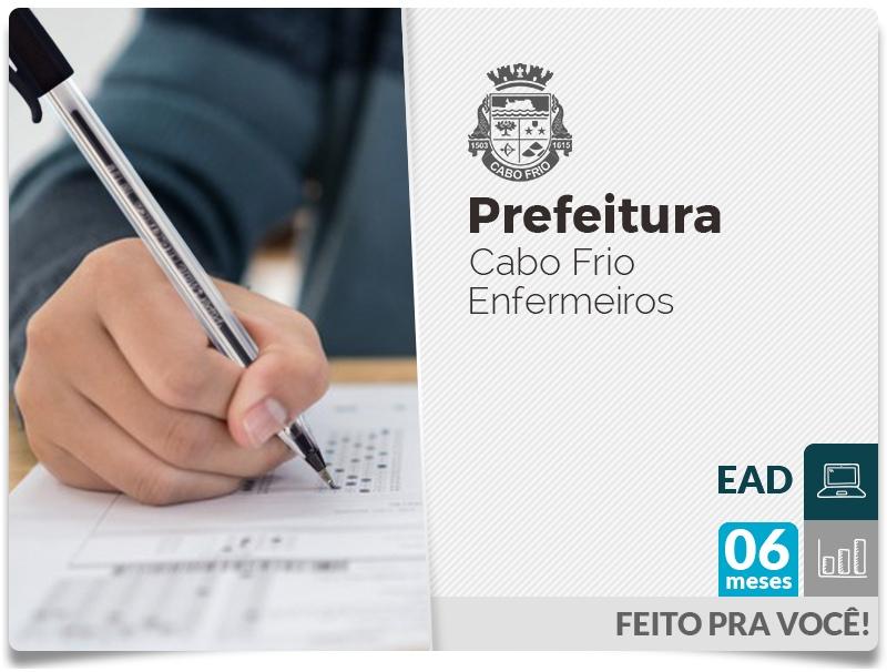 Prefeitura de Cabo Frio - Enfermeiro - EAD