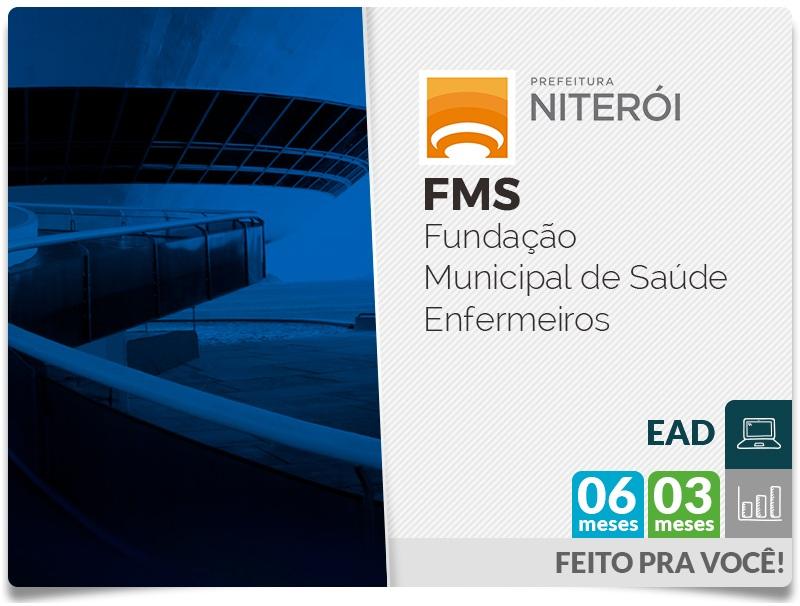 FMS - Prefeitura de Niterói - Questões Comentadas - Enfermeiros EAD