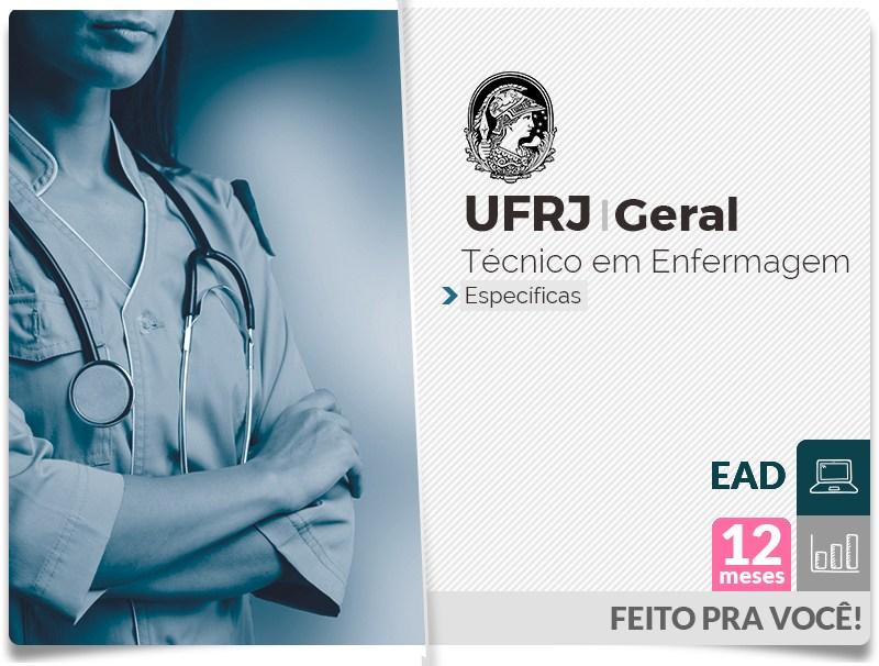 UFRJ GERAL Específicas  - Técnico Enfermagem EAD