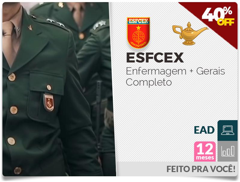 ESFCEX Enfermagem Completo EAD