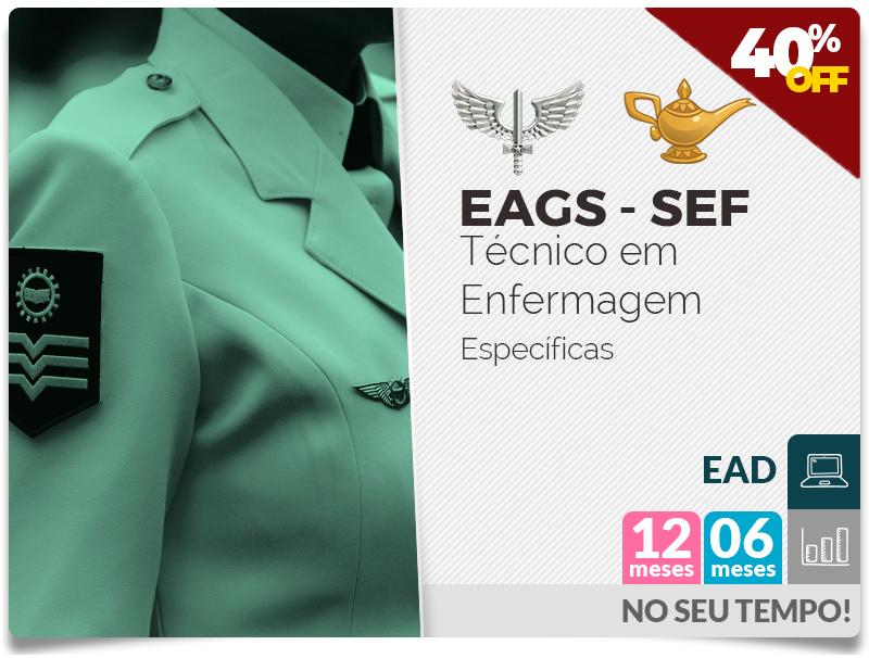 EAGS SEF Técnico em Enfermagem EAD