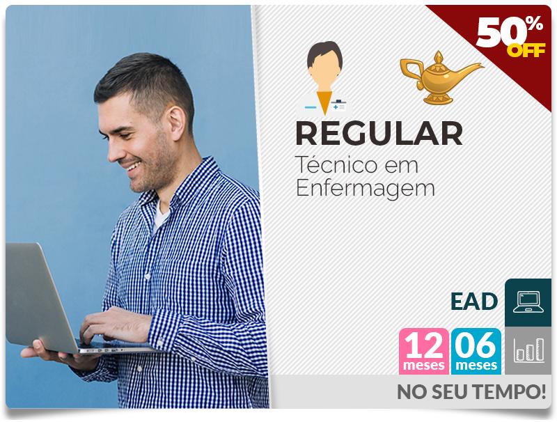 REGULAR TÉCNICO EM ENFERMAGEM EAD