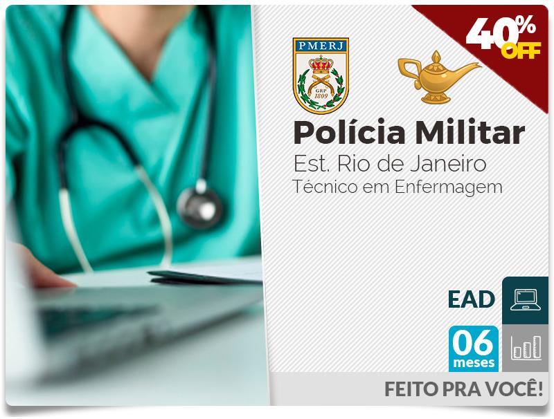 PM Técnico em Enfermagem - EAD